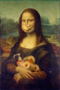 Mona Lisa In Mask-jpg.com